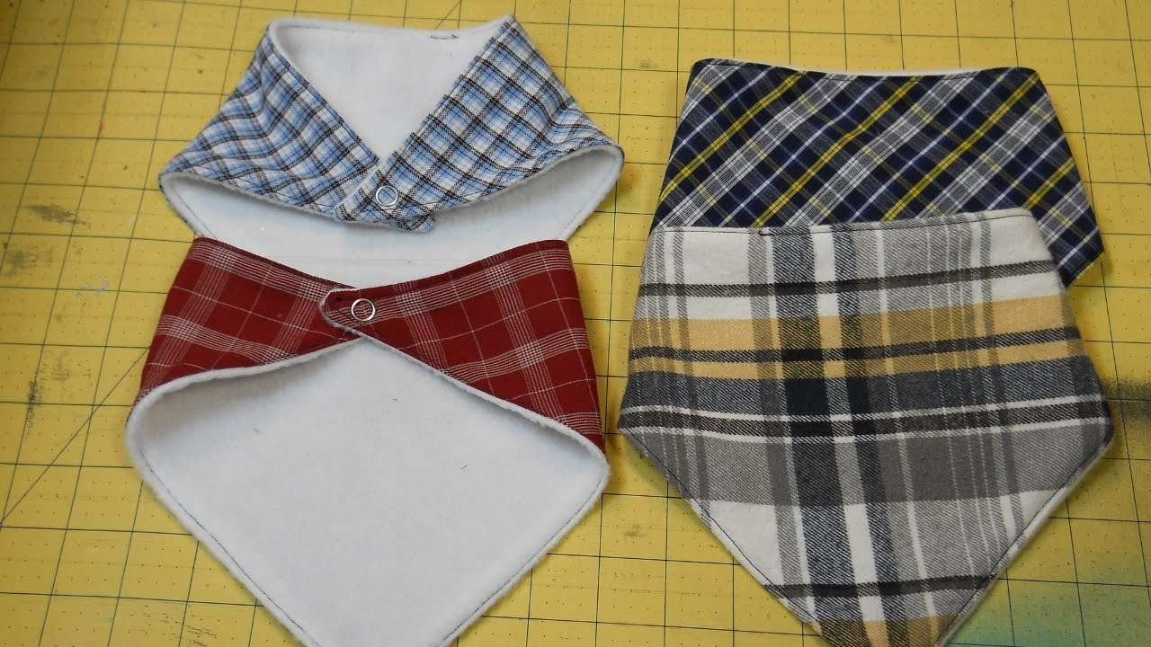 How to sew a bandana bib youtube how to sew a bandana bib baditri Images