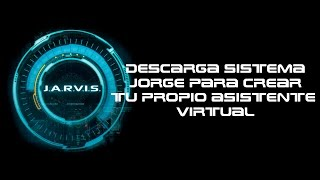 Instalaciòn y descarga de Jarvis para windows 10/8/7