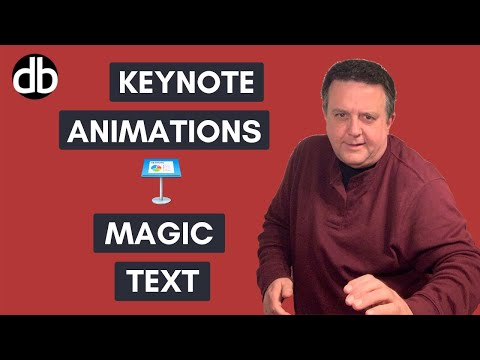 Keynote Animation - Magic Text