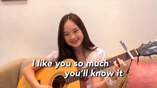 Download lagu I Like You So Much You'll Know It - Ysabelle Cuevaz || Nadine Abigail (Acoustic Cover)