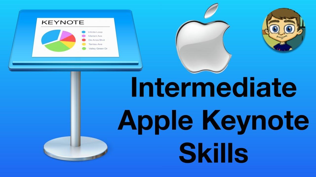 Intermediate Apple Keynote Skills Youtube