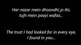 Tu Hi Mera Meet Hai with Lyrics and English Translation - Movie Simran - Singer Arijit Singh