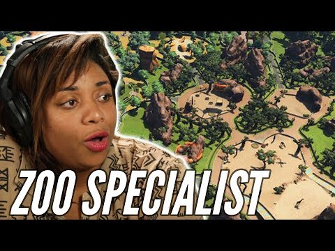 Zookeeper Builds Her Ideal Zoo In Zoo Tycoon • Professionals Play