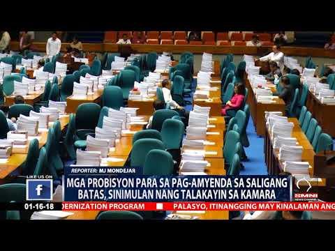 House committee, tinatalakay na ang mga probinsyon para sa pag-amyenda sa saligang batas