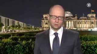 Яценюк  СССР напал на Германию и Украину во время Второй Мировой войны