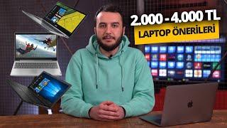 2000 - 4000 TL arası en iyi notebook önerileri - Mart 2020
