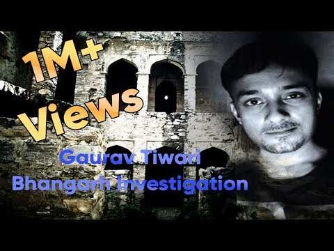 Gaurav Tiwari's  Night  stay   in   Bhangarh  Fort - 2012