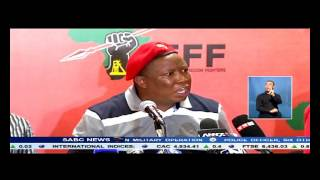 Julius Malema has lashed out at the media over Mandela comments