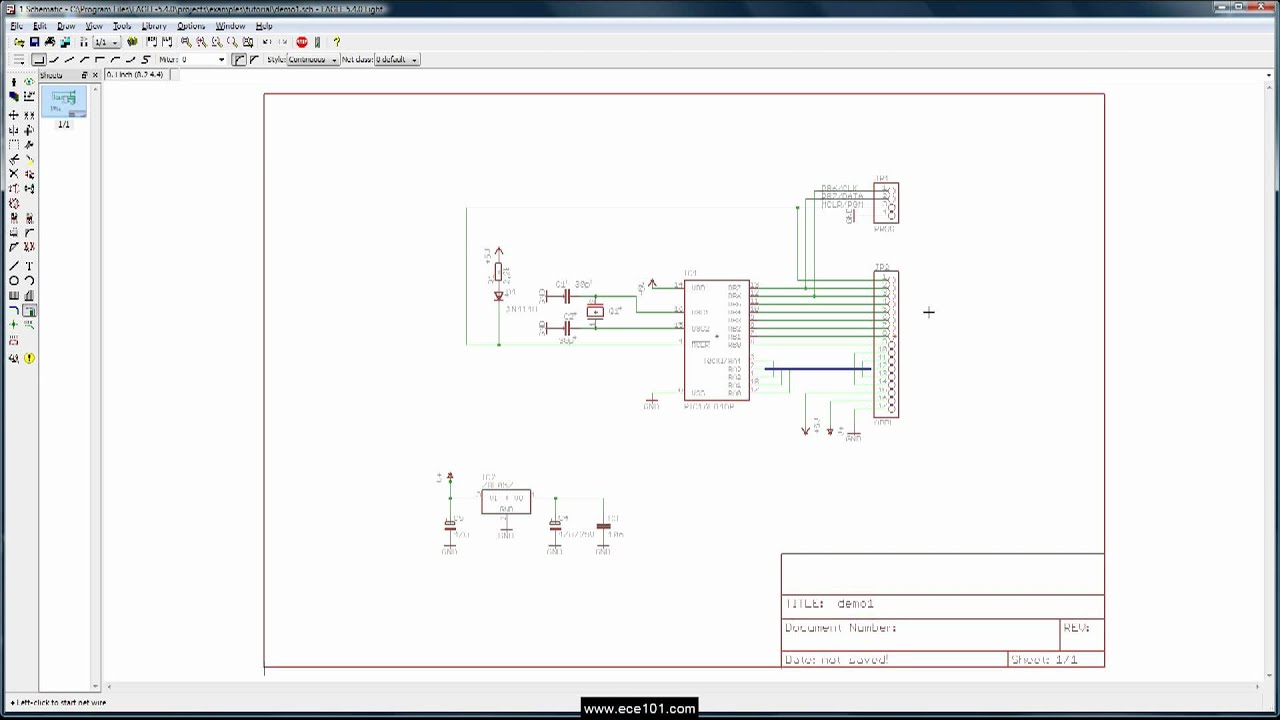 Eagle Schematic Tutorial Bus - ~ Wiring Diagram Portal ~ •