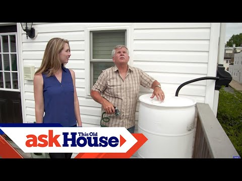 How to Build a Rain Barrel for $40   Ask This Old House