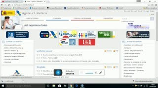 Tutorial programa online de cálculo de retención de irpf renta 2015