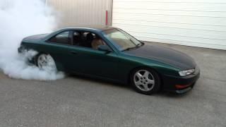vq35de 240sx kouki burnout