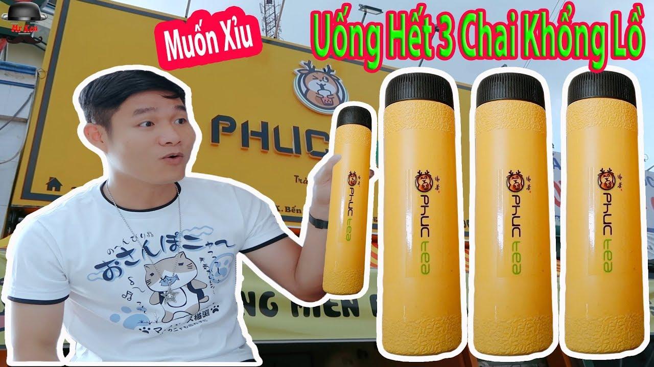 Review Trà Sữa Đài Loan Thương Hiệu Phúc Tea Tại Bến Cát  _ Taiwan milk tea _