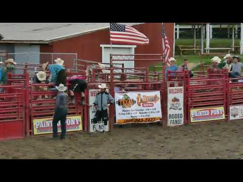 Bull Riding 2 at Orange County Fair Speedway Middletown NY 7-5-2019