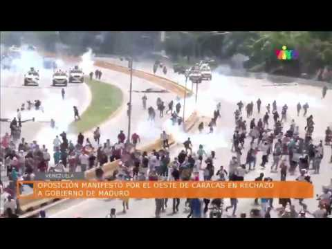 En vivo todo lo que acontece en Venezuela 19/04/2017