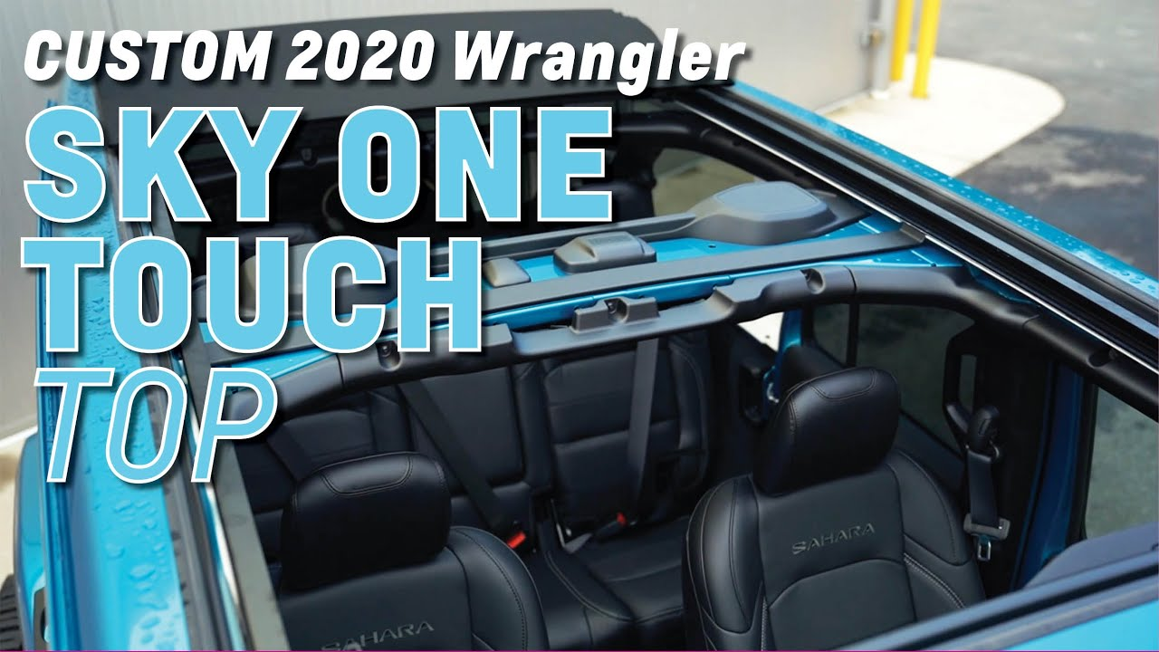 2020 Wrangler Sahara CUSTOM with the SKY ONE-TOUCH Top
