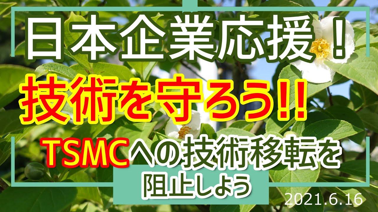 日本の技術を守ろう!!!~TSMC誘致の不可思議??[030616]