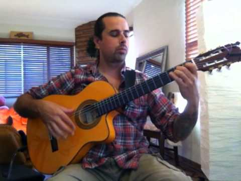 "Metallica ""Nothing Else Matters"" (acoustic) Ben Woods on Flamenco Guitar"