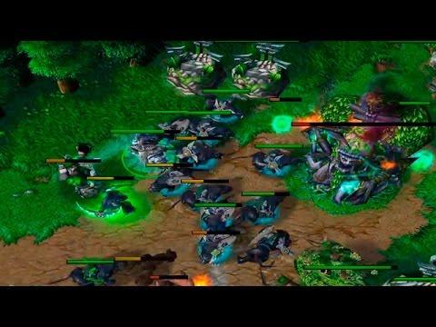 Warcraft 1x1 за Эльфов: наглые коты