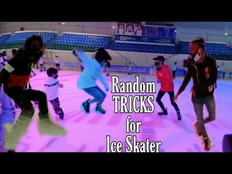 Random Tricks during the public session | Ice Rink Abu Dhabi | Zayed Sports City