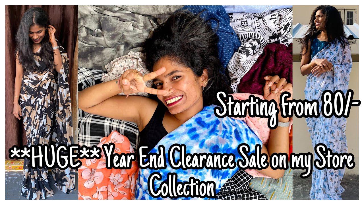 HUGE Fabrics SALE | Year End Clearance Sale | fabrics_online101 | nayalooks | Navya Varma