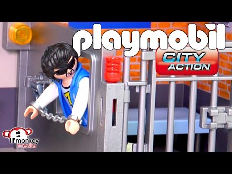 Playmobil City Action Police!  SWAT, Police Station, Tactical Unit, Police Car with Camera and More!