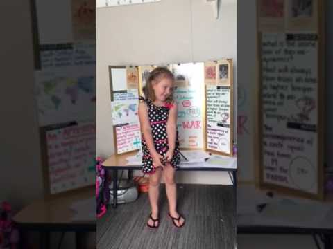 Gracie's presentation March 21st