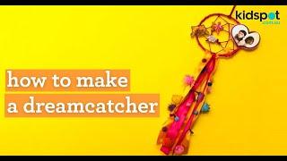 How to make a dream catcher kids' craft activity