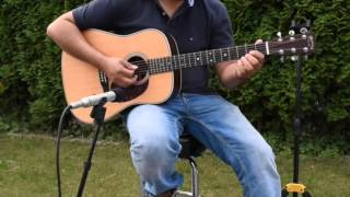 Martin HD-28 Guitar - Gitarre Resimi