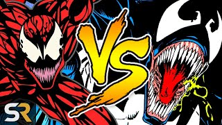 Venom vs Carnage: Which Symbiote Is Stronger?