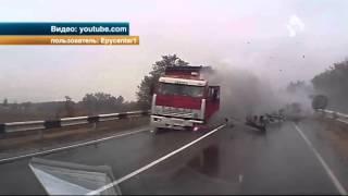 В Краснодаре обнародовали кадры жуткой аварии