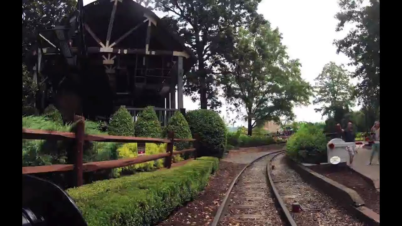 Train Time Lapse Busch Gardens Williamsburg Va Youtube