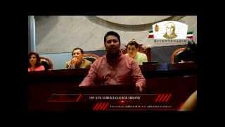 Intervención ante el pleno del H. Congreso del Estado de Guerrero. 27 Noviembre 2012