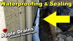 Foundation Waterproofing and Sealing, Coastal Homes, South Florida