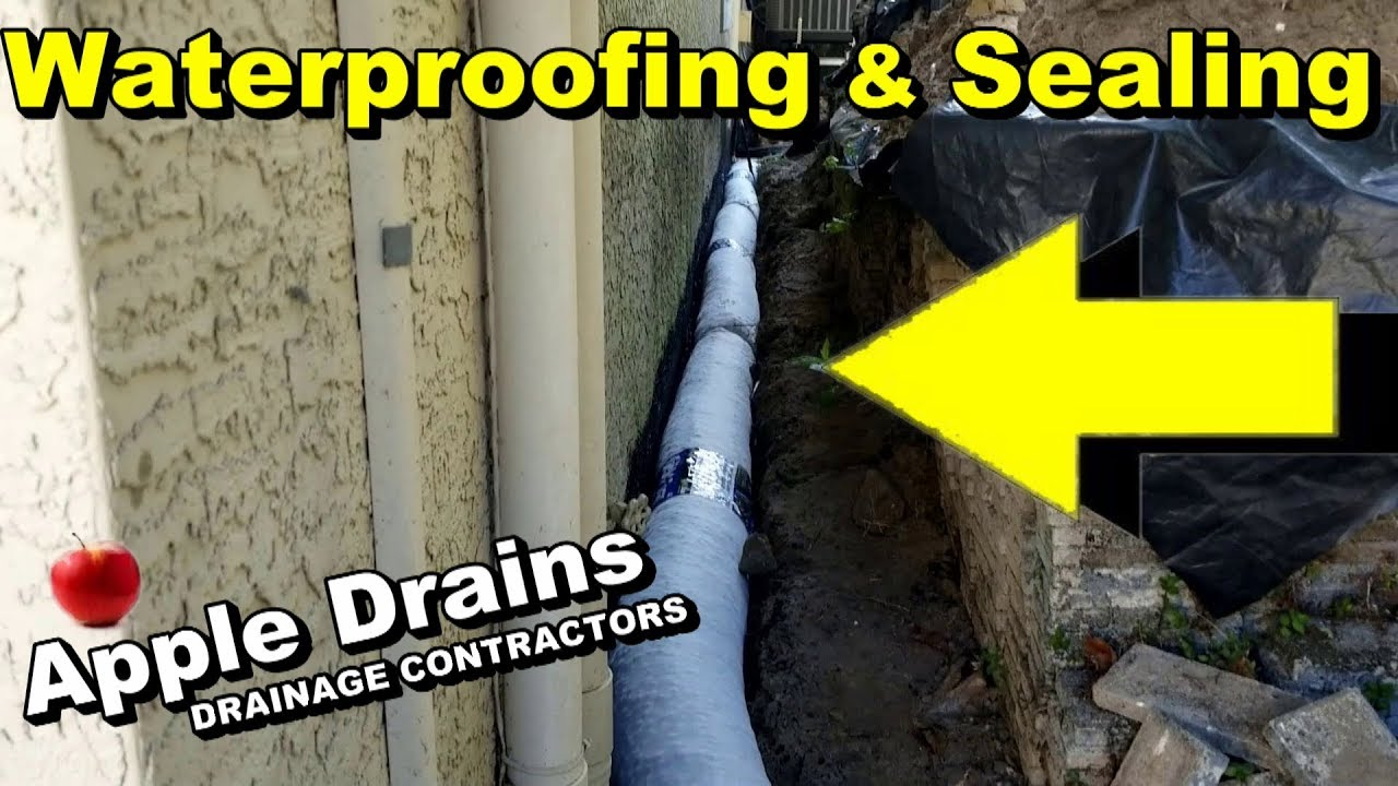 How and what is the waterproofing sewer wells