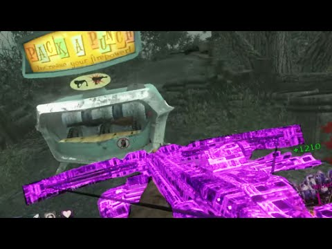 """WICKED BOW! """"Call of Duty Zombies"""" UGX REQUIEM EASTER EGG Gameplay"""