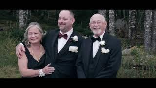 Monica, Chad & Abigail   A wedding of family unity at Hatfield Farms