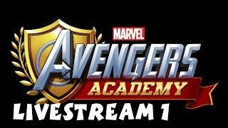 Marvel Avengers Academy (by TinyCo) iOS - Android - HD Gameplay Livestream 1