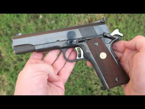 4K Shooting: Colt National Match 45 - pre-70s Series 1911 excellence