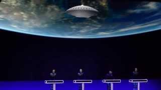 """Kraftwerk-""""Spacelab"""" Cirkus,Stockholm 22/1-2014 HD 3D"""