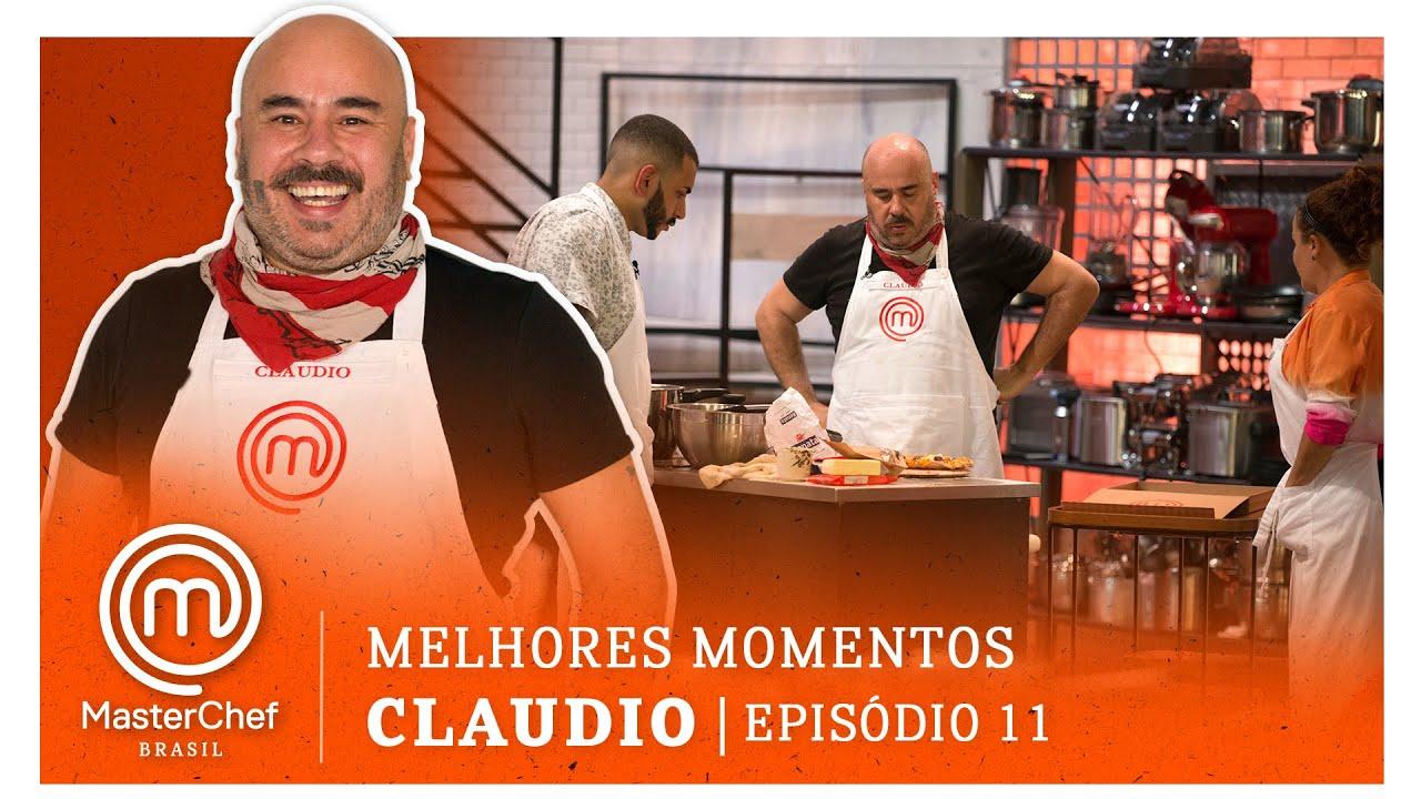 MELHORES MOMENTOS com Claudio Assis   MASTERCHEF BRASIL   EP 11   TEMP 07