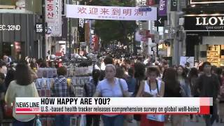 Korea ranks 75th out of 135 countries in overall well-being index - poll   ′세계 웰