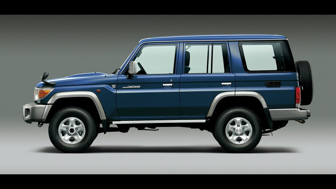 Toyota Land Cruiser 70 >> Toyota remakes original Land Cruiser 70 for one year - YouTube