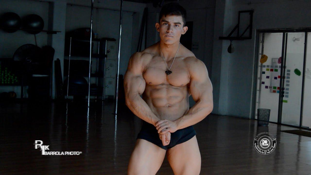 Emilio Santana, hot latino bodybuilder