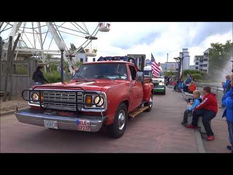 US Car Show im Movie Park 2017 Parade Sonntag am Santa Monica Pier