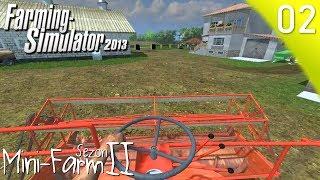 Let's play LS2013 mini Farm Sezon2 #2 Jedziemy na złom II Cygański mleczarz II Żniwa II