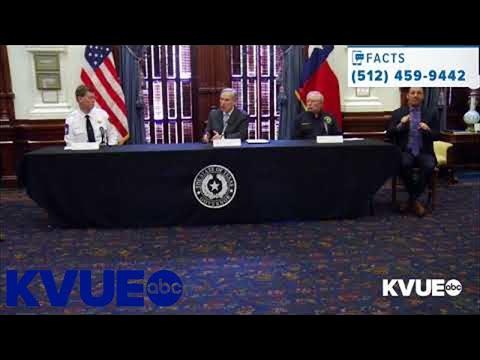 Coronavirus In Austin: Gov. Greg Abbott Gives Update On Texas' Efforts To Combat COVID-19   KVUE
