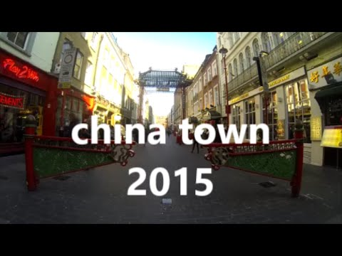 LONDON TRAVEL :CHINA TOWN 2015