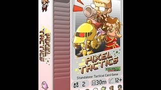 Pixel Tactics review - Board Game Brawl