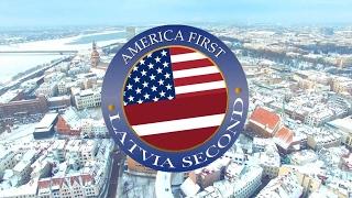Latvia second / Latvija ielūdz Trampu